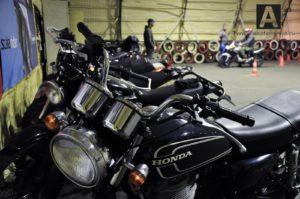Вождение мотоцикла по городу