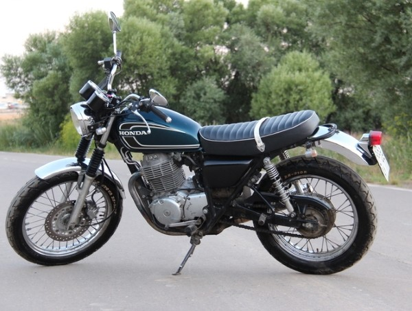 мотоцикл honda cb 400 ss новый