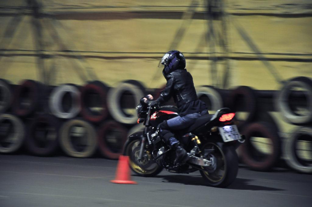 Правильная посадка на мотоцикле