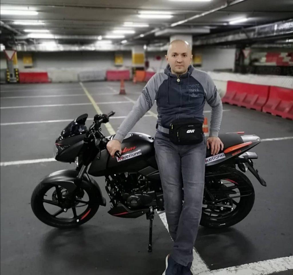 Мотоинструктор Дмитрий