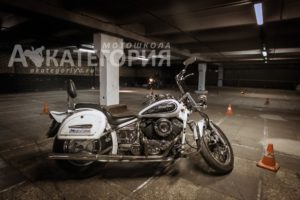Курс на чоппере Yamaha drag star 400