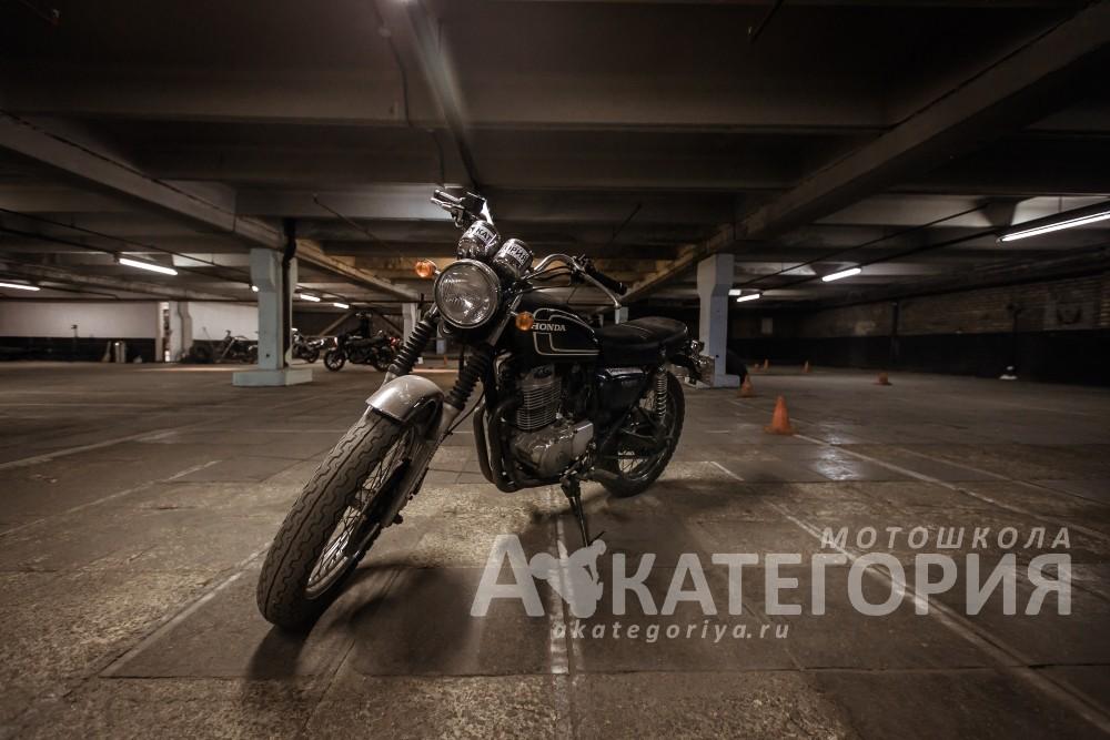Выезд в город на мотоцикле. Открытие мотосезона в Москве.
