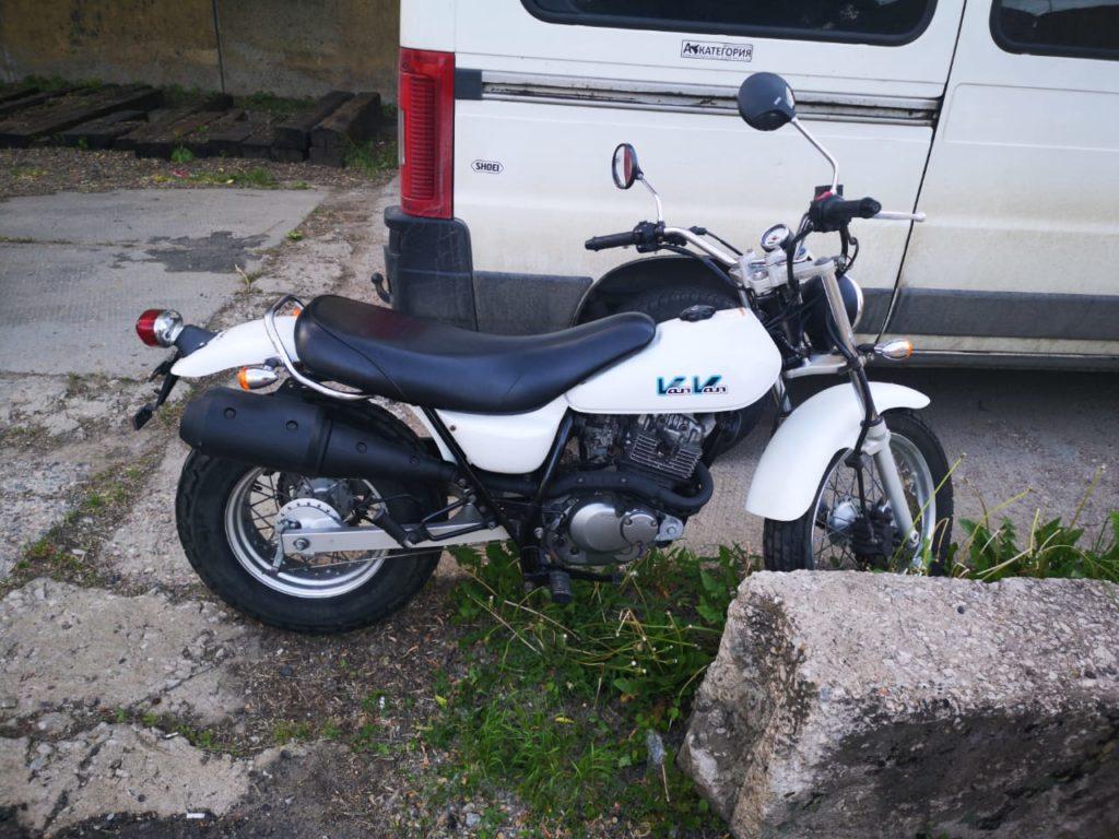 Suzuki 200 VanVan