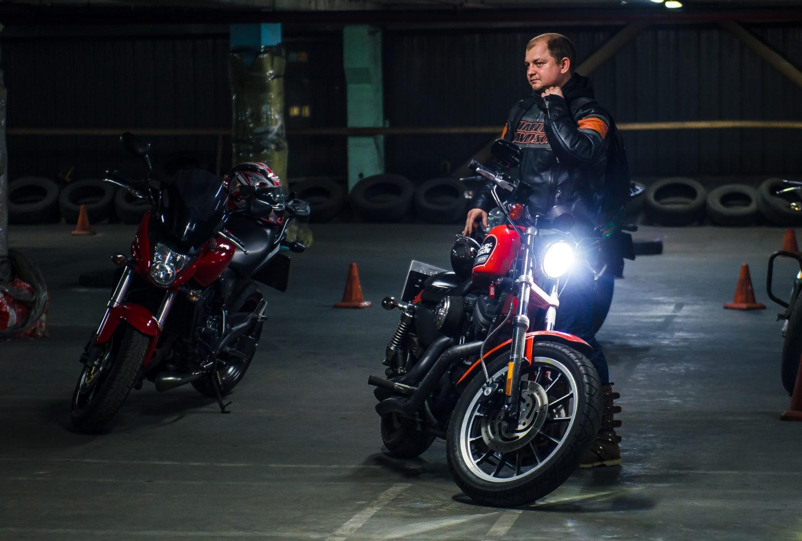 Обучение езде на мотоцикле в Москве