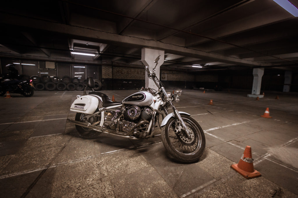 Yamaha drag star 400 курс на чоппере