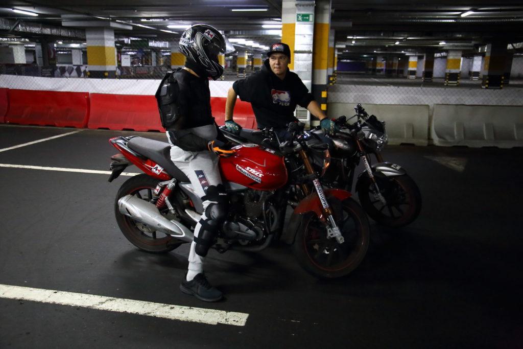 Вождение мотоцикла обучение