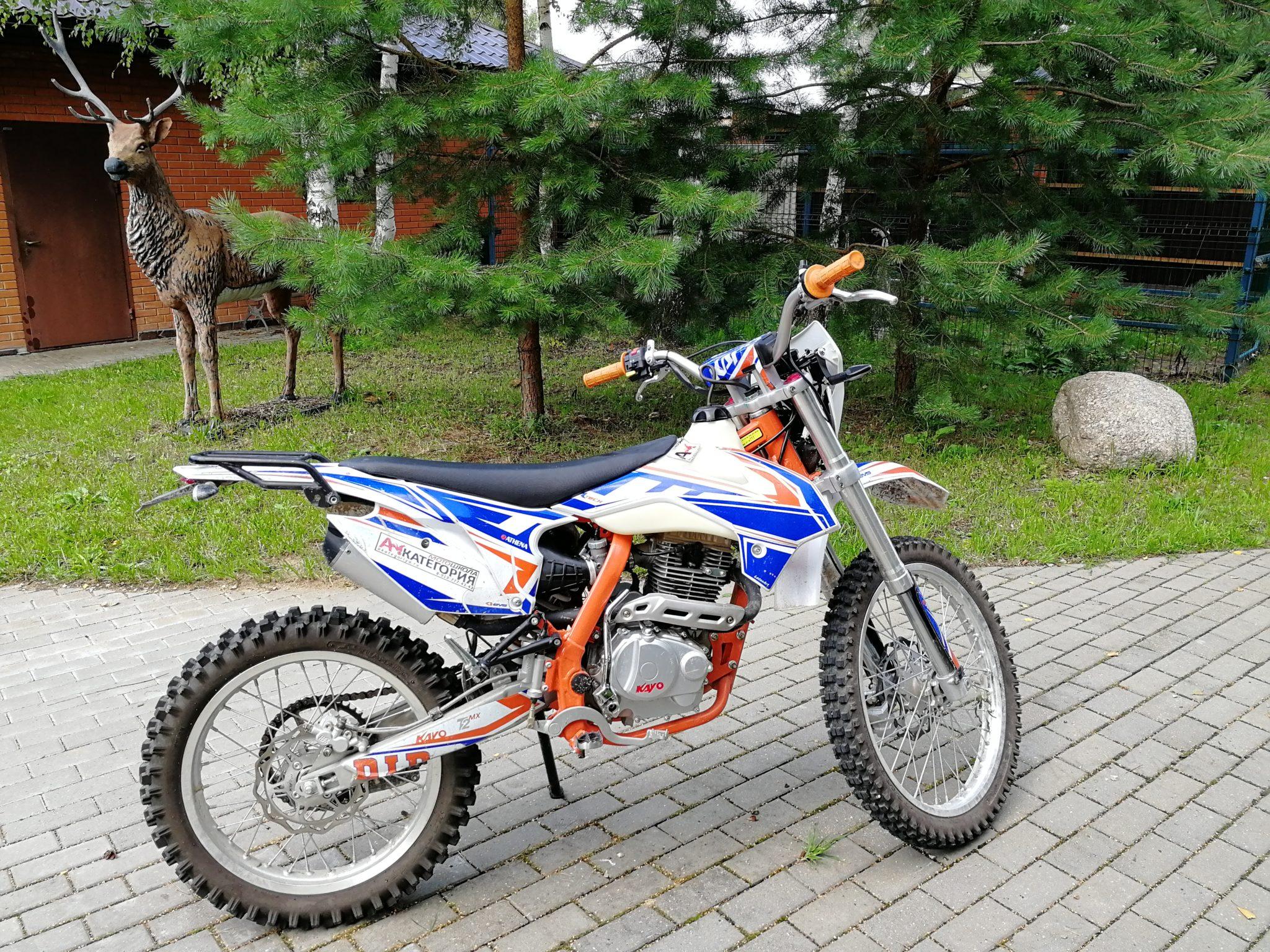 KAYO t2 250 эндуро